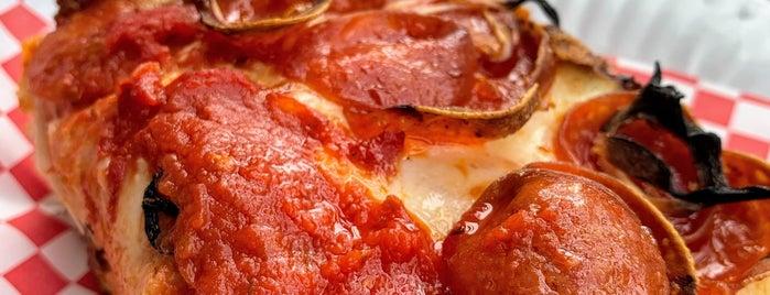 Pizza Squared is one of Tempat yang Disukai Jane.