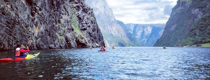 Nærøyfjorden is one of Norway 18 🇳🇴.