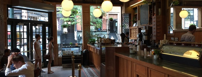 Stumptown Coffee Roasters is one of NYC  cafe / coffee lovers (esp soy milk drinkers).