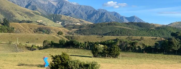 Hapuku Lodge & Treehouses is one of A week on New Zealand's South Island.