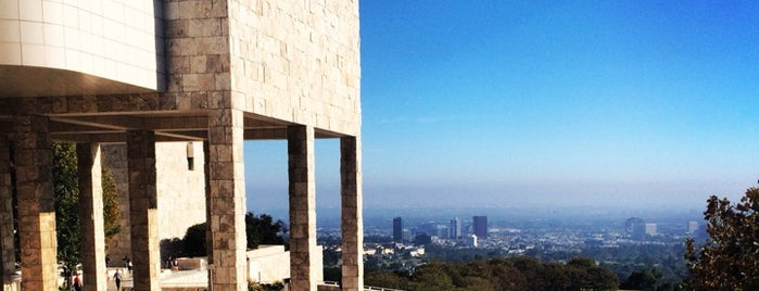 J. Paul Getty Museum is one of LA Recommendations.