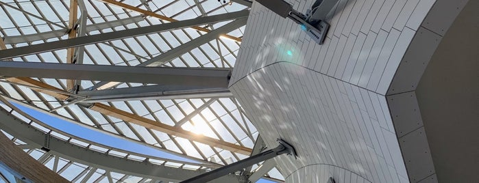 Fondation Louis Vuitton is one of 72 Hours in Paris.