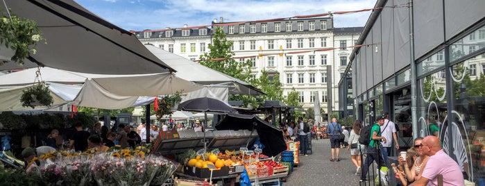 Torvehallerne is one of Copenhagen.