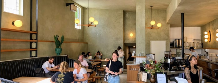 Sightglass Coffee is one of SF food, booze, and artisinal coffee.