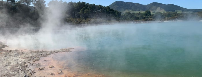 Wai-O-Tapu Thermal Wonderland is one of A week on New Zealand's North Island.