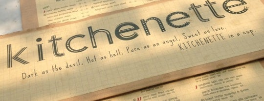 kitchenette is one of Where to Eat in Jakarta.