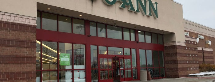 JOANN Fabrics and Crafts is one of let's go shopping!.