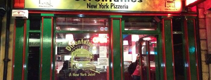 DiFontaine's Pizzeria is one of Irelandia.