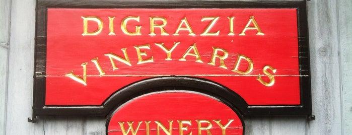 DiGrazia Vineyards is one of Gespeicherte Orte von Kristi.