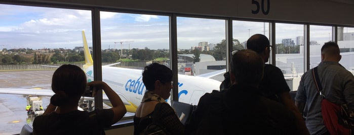 Gate 50 is one of Sydney Airport Watchlist.