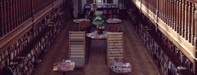 Daunt Books is one of Marylebone, London.