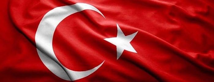 Atatürk Heykeli is one of สถานที่ที่ Dilek ถูกใจ.