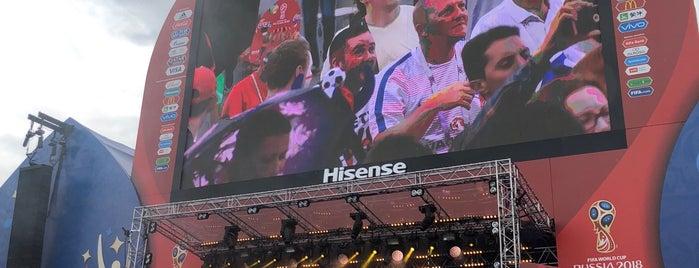 FIFA Fan Fest is one of Lugares favoritos de Yury.