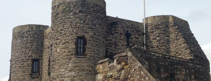 Rye Castle (Ypres Tower) is one of Rye.