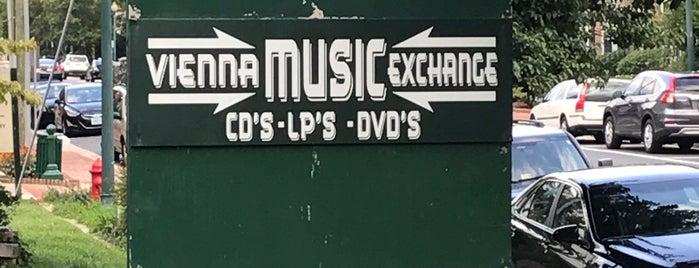 Vienna Music Exchange is one of DMV Record Stores.
