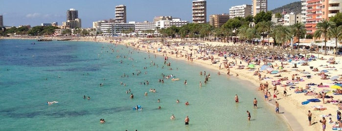 Playa de Magaluf is one of Mallorca.