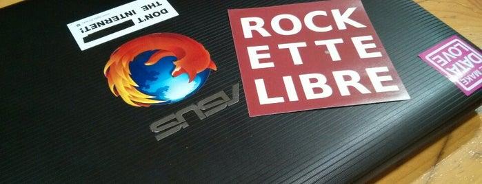 La Petite Rockette is one of Paris party.
