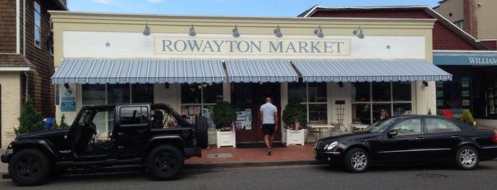 Rowayton Market is one of CT.