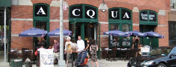 Acqua Restaurant NYC is one of Lugares guardados de Glamazon Diaries.