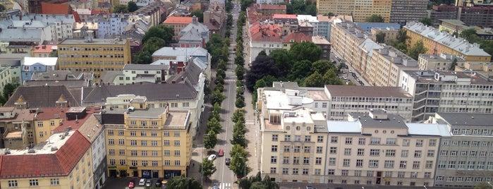 Vyhlídková věž Nová radnice is one of Ostrava.