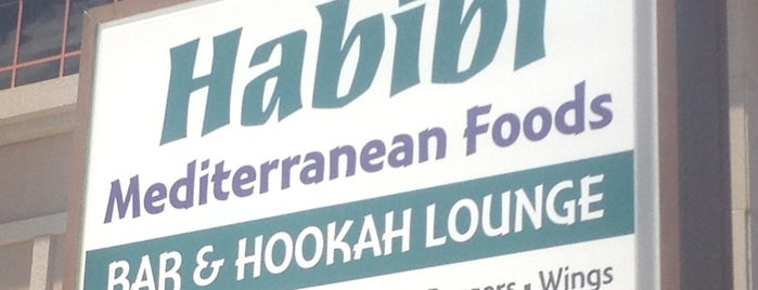 Habibi Mediterranean Hookah Bar & Lounge is one of Jacksonvilleさんの保存済みスポット.
