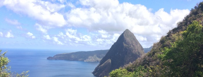 Gros Piton is one of St. Lucia.