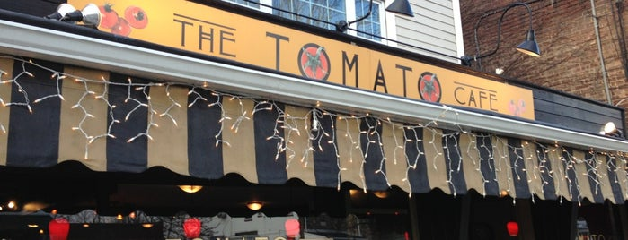 The Tomato Cafe is one of Lugares favoritos de Mark.