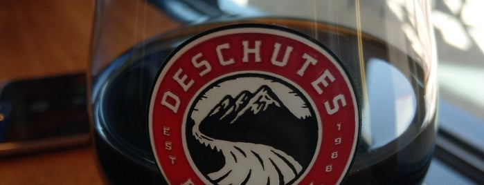 Deschutes Brewery Brewhouse is one of Oregon Brewpubs.