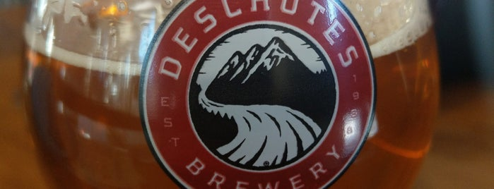 Deschutes Brewery Brewhouse is one of Oregon Breweries.