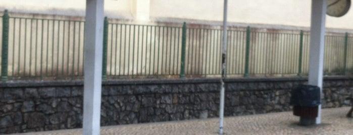Estação Ferroviária de Oeiras is one of Tempat yang Disukai Rafael.