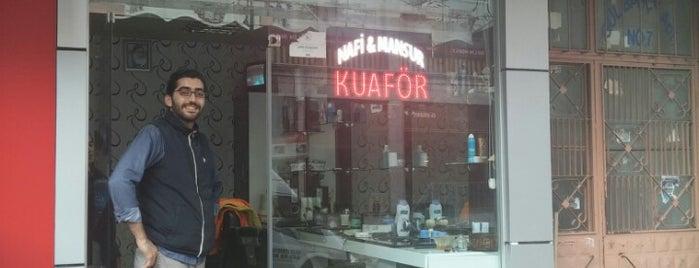 Nafi Kuaför is one of Tempat yang Disukai Barış.