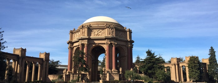 Palace of Fine Arts is one of san fo.