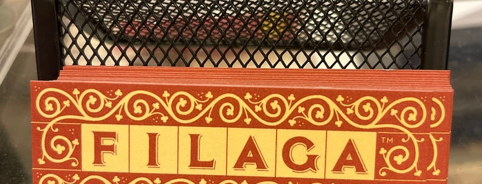 Filaga is one of New York Eats/Drinks/Shopping.