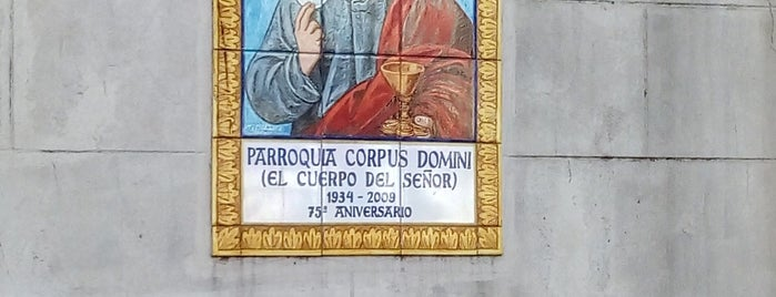 Parroquia Corpus Domini is one of Barrio de Villa Luro.