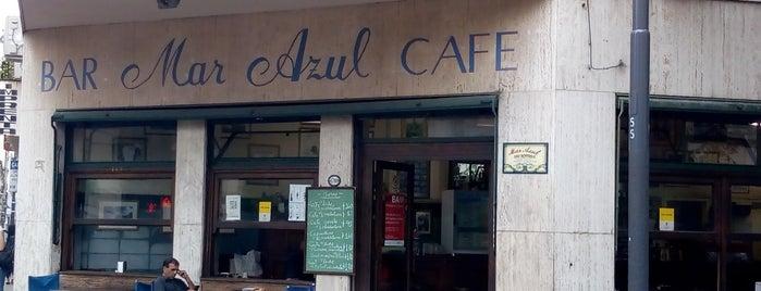 Café Bar Mar Azul is one of Locais salvos de Nicolás.