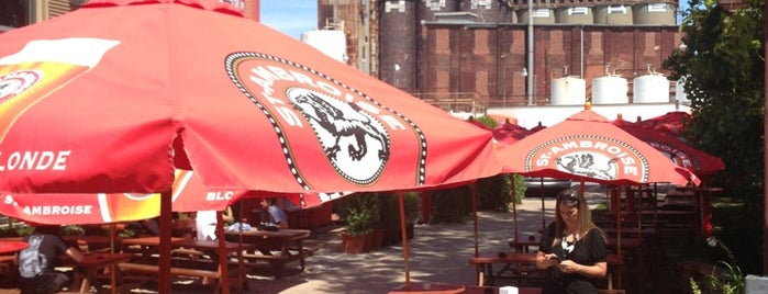 La Terrasse St-Ambroise is one of Brewed in Montreal.