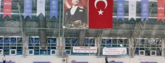 Tekirdağ Gençlik Hiz. ve Spor İl Md. Kapalı Yüzme Havuzu is one of Tekirdağ Gezinti:)).