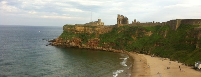 Tynemouth Priory and Castle is one of Lugares favoritos de Carl.
