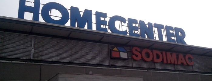 Homecenter Sodimac is one of Marianaさんのお気に入りスポット.
