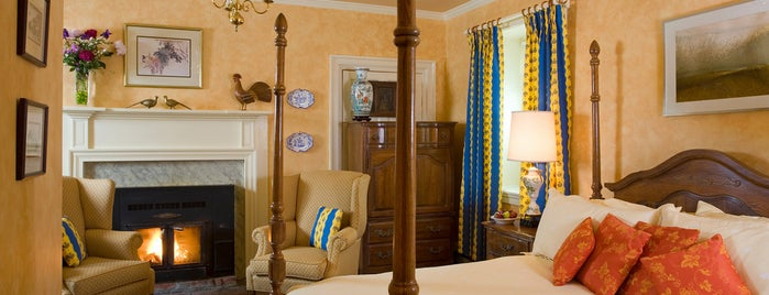 L'Auberge Provencale Bed and Breakfast is one of Orte, die Emily gefallen.