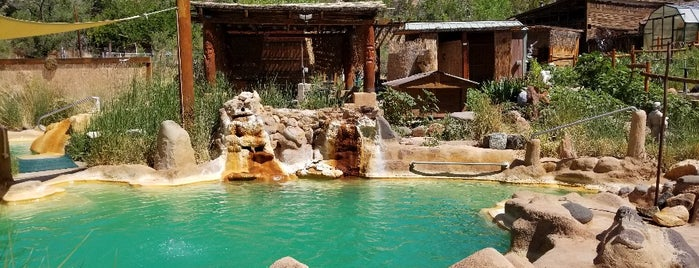 Jemez Hot Springs, Home of The Giggling Springs is one of Outdoors.