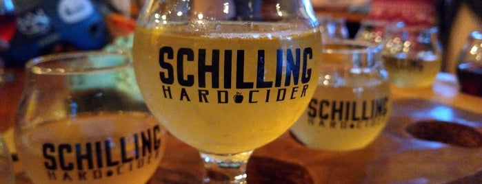 Schilling Cider House is one of Posti che sono piaciuti a Howie.