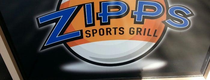 Zipps Sports Grill is one of Posti che sono piaciuti a Jeff.
