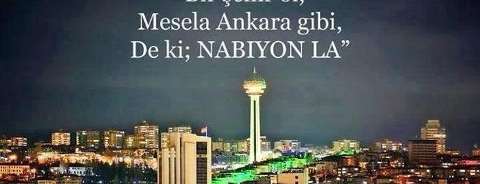 Ankara is one of Gezilesi Mekanlar.