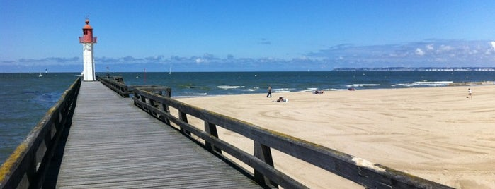 Plage de Trouville is one of Locais curtidos por A.