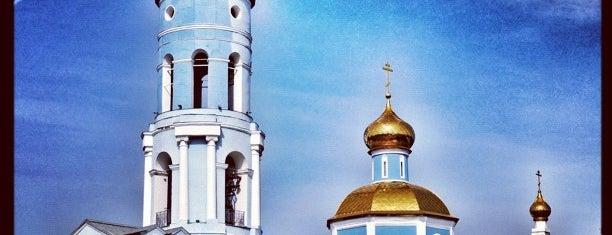 Церковь Владимирской Иконы Божией Матери is one of Posti che sono piaciuti a Di.