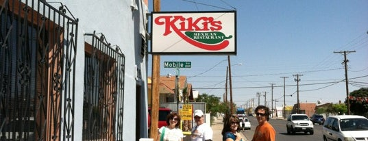 Kiki's Restaurant & Bar is one of El Paso, TX Spots.