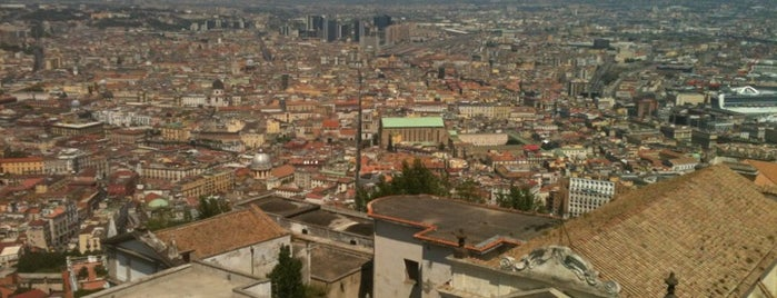 Castel Sant'Elmo is one of Historic Naples.