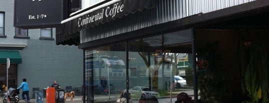 Continental Coffee is one of Vancouver.