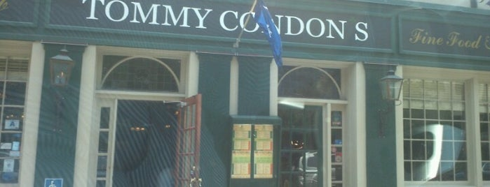 Tommy Condon's is one of Charleston.
